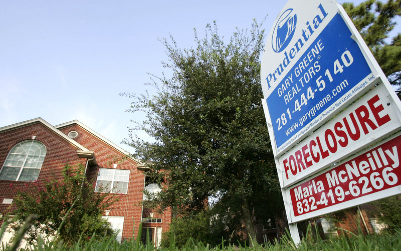 In the four years since the housing bust, about 5 million homes have been foreclosed upon. About 2.4 million primary mortgages were in foreclosure at the end of last year.