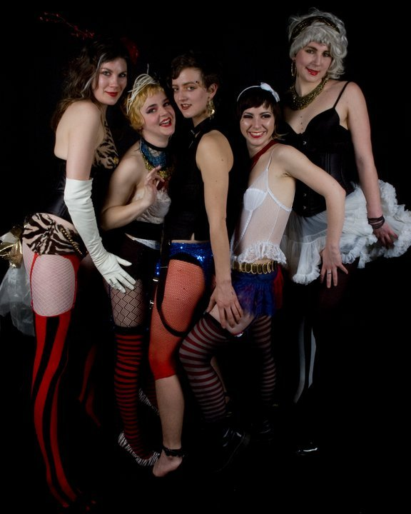 The Dirty Dishes join other burlesque acts for the Peek-a-Boo Burlesque Revue on Saturday in Dover-Foxcroft.