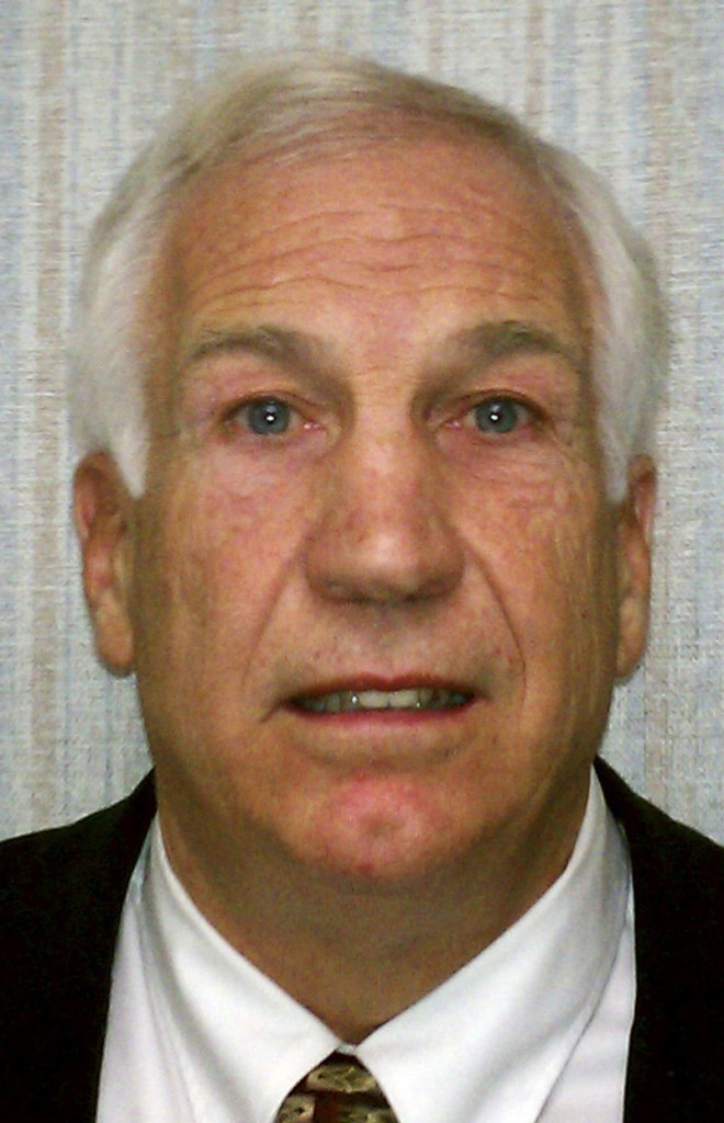 Jerry Sandusky: Charged with sexually abusing eight boys over 15 years.