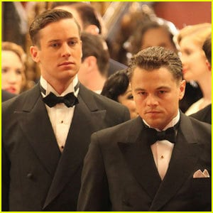 Armie Hammer, left, with DiCaprio, plays Hoover s longtime assistant Clyde Tolson.