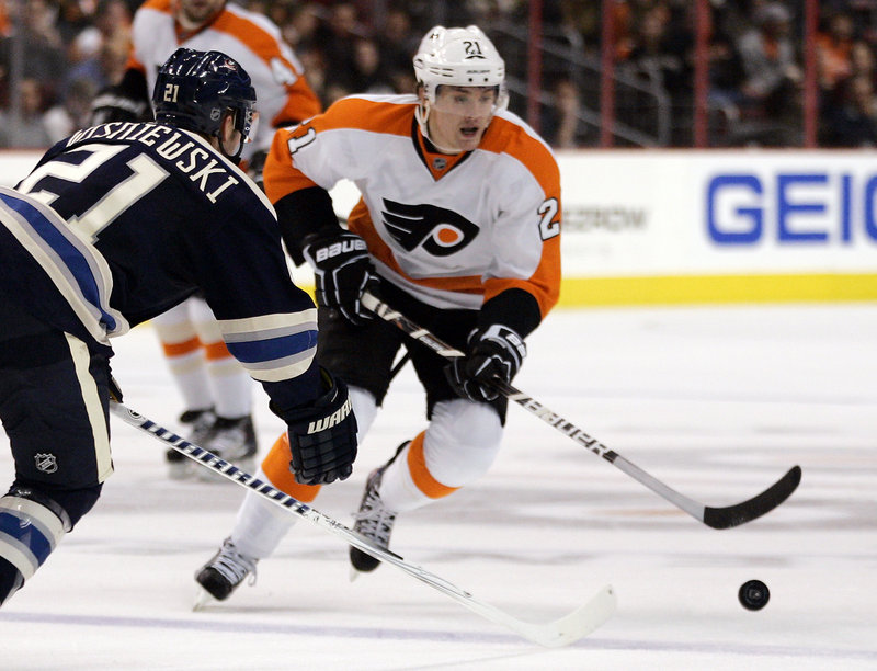 James van Riemsdyk, who was raised in New Jersey, is one of the top American players in the NHL. He was drafted with the second pick in the 2007 draft by the Flyers, who later gave him a six-year contract extension.
