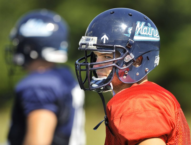 Chris Treister hasn t gotten as much playing time as he would have liked during his five years at UMaine, but he was responsible for perhaps the biggest play of the 2011 season.