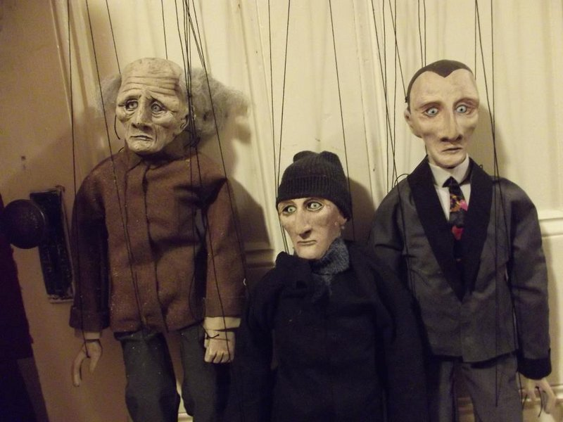 Reuben J. Little's marionettes will be part of the puppet slam. Other scheduled puppeteers include Julie Goell, Tim Harbeson, and Zach and Dylan Rohman.