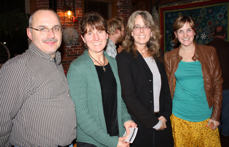 Steve Perry of Biddeford, Andrea Perry of Biddeford, Daphne Pulsifer of Kennebunkport and Kaitlin Hanna of Kennebunkport.