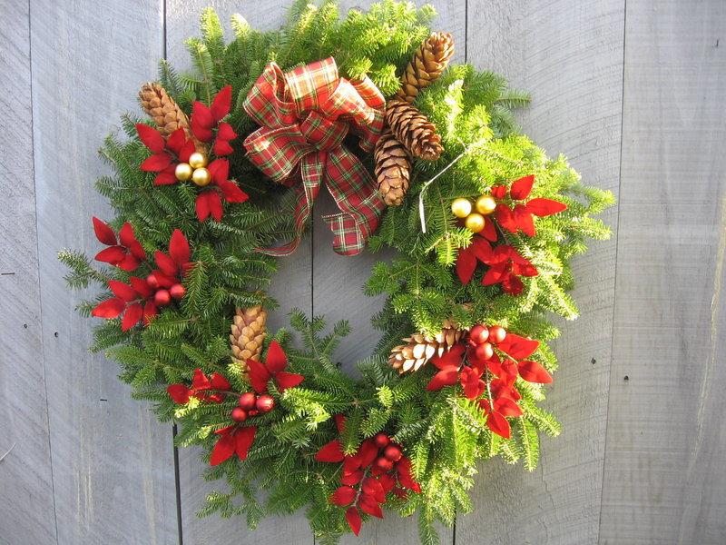 Evergreen cones can be saved to add to wreaths and other decorations.