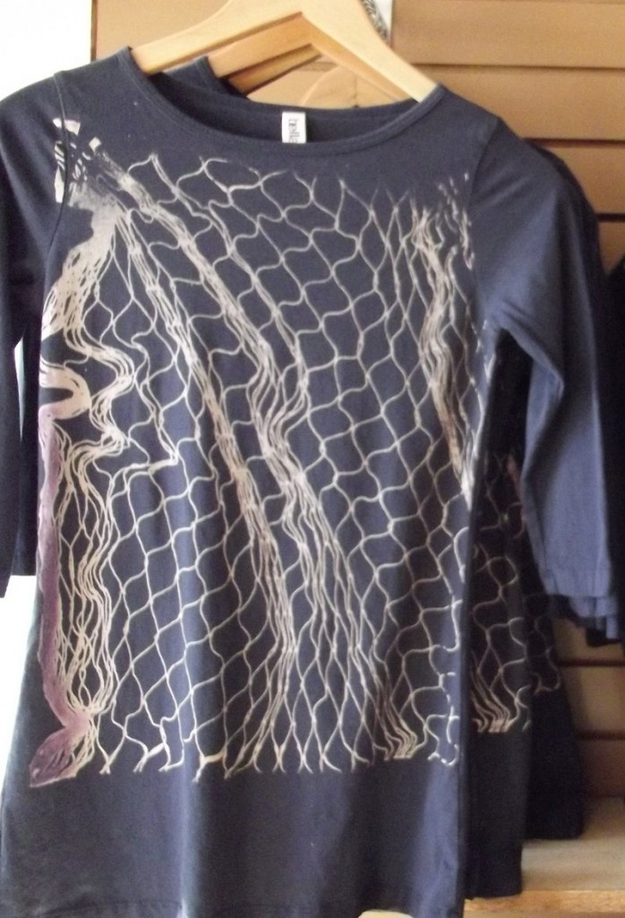... a hand-screened T-shirt from the Ferdinand Home Store in Portland ...