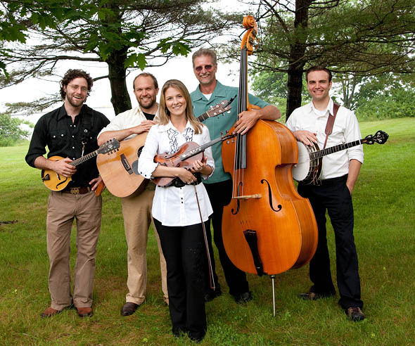 Erica Brown's Bluegrass Connection is at the Saco River Grange Hall in Bar Mills on Saturday.
