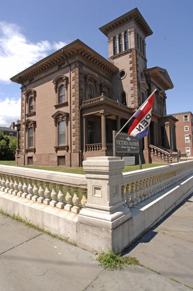 The Victoria Mansion observes this week's First Friday Art Walk.