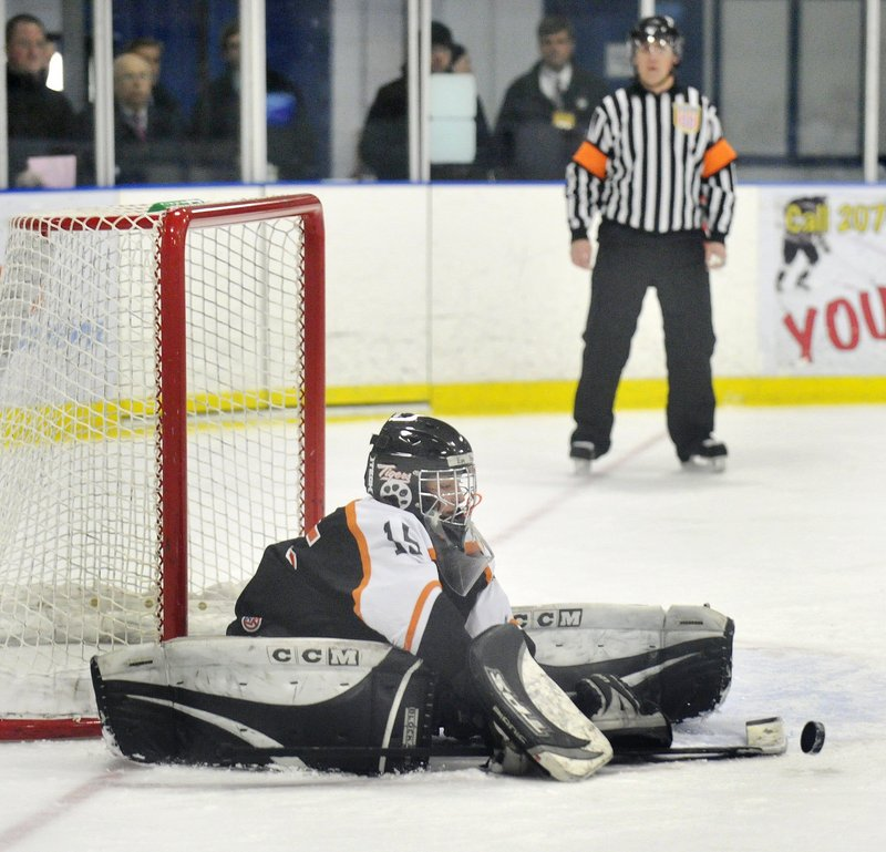 Emily Brassley of Biddeford is the kind of goalie that no opponent wants to see. She was dynamic last season in leading the Tigers to the Western Class A championship game.