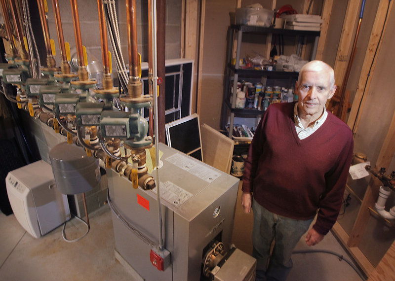 Ted Bernard of Tamarack Drive in Brunswick would like to switch to natural gas. Bernard believes he could do even better than his current high-performance German unit.