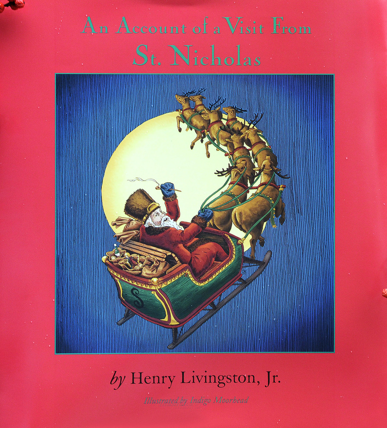 "The new book featuring ""The Night Before Christmas"" is the first to credit Henry Livingston Jr. as the author of the poem."