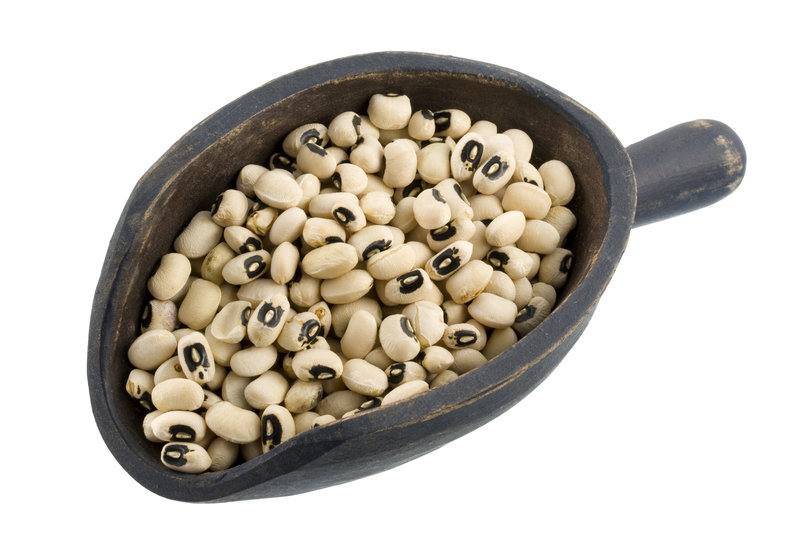 Black-eyed peas have been considered a lucky food – particularly by Southerners – since Civil War days.