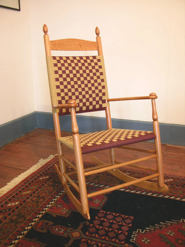 S. Timberlake's Enfield rocker is based on a Shaker design.