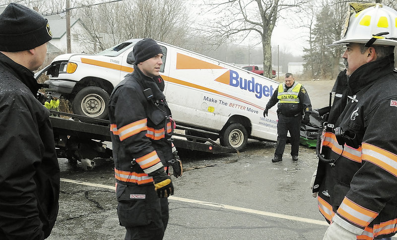 Pictures Of Fatal Car Accident Accident In Bowdoin Maine