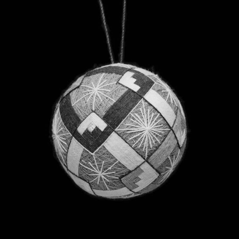 Prairie Stuart-Wolff's photo of a Japanese temari ball.