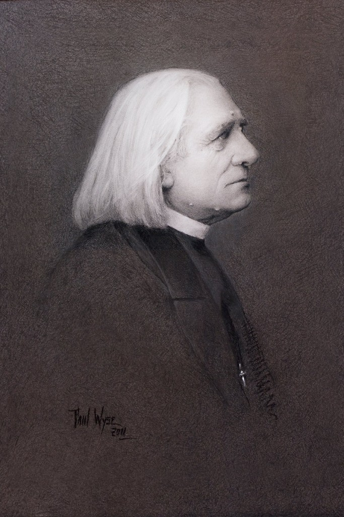 Wyse's portrait of the composer Franz Liszt.