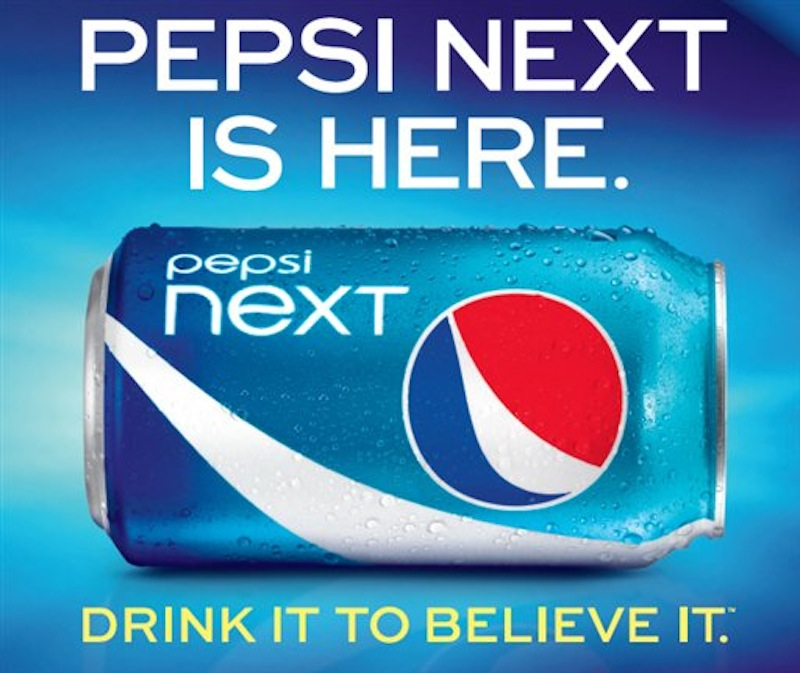 This screen shot provided PepsiCo, shows the advertisement for