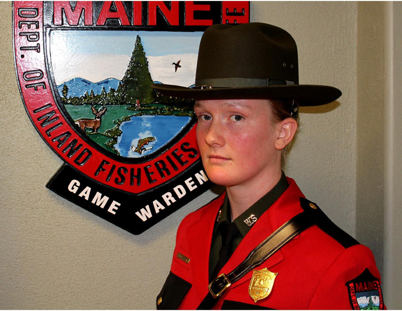 New Gloucester native Emily Bastian has joined the Maine Warden Service.