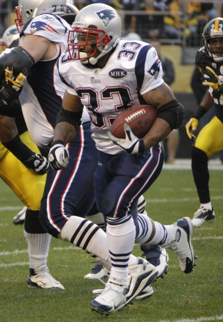 Kevin Faulk, a running back, is one of three Patriots remaining from the 2002 Super Bowl. The others are quarterback Tom Brady and offensive lineman Matt Light.