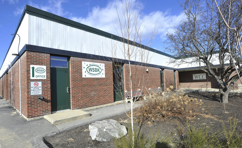 The Westbrook Community Center on Bridge Street is a potential new home for city offices.