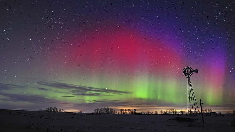 aurora borealis solar storm today - photo #44