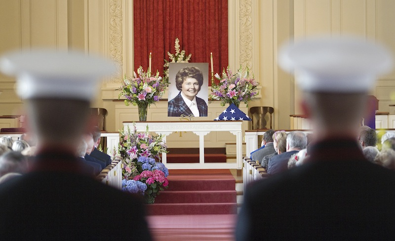 A memorial service was held to celebrate the life of Hattie M. Bickmore on Saturday, March 24, 2012 at Woodfords Congregational Church in Portland.