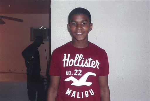 An undated family photo of shooting victim Trayvon Martin.
