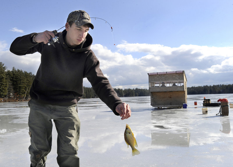 Jeff Lemay has turned a hobby into a school project, and also has started an outdoors club at Sanford High.