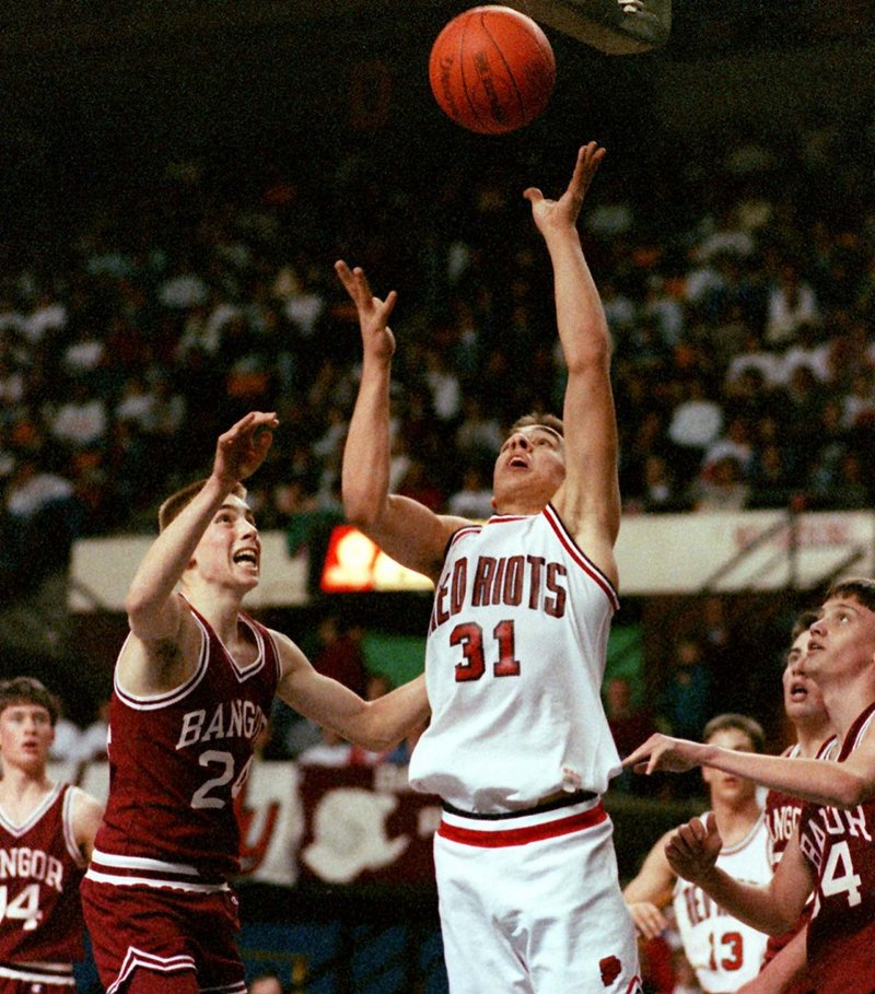 John Wassenbergh played college ball at St. Joseph's College, then became a professional. But the game he'll never forget was with South Portland High, when he scored 43 points and the Riots won the Class A state title in five overtimes.
