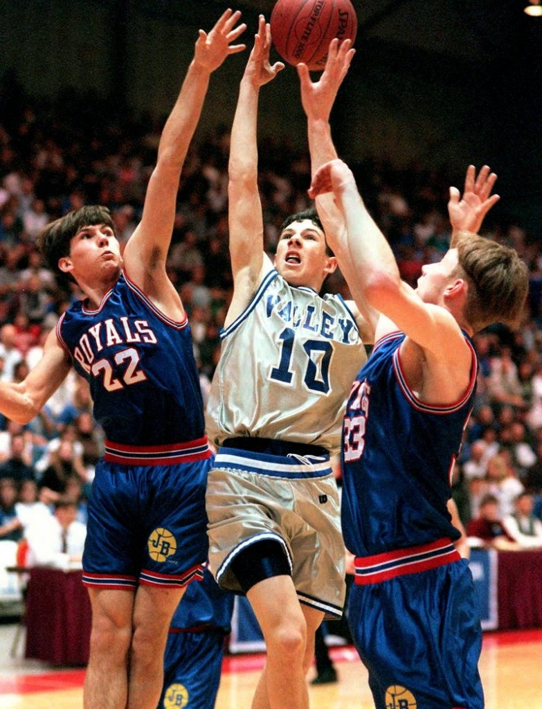 Valley High and Jonesport-Beals combined for 188 points in the 1998 title game, the first of six straight state titles for Valley.