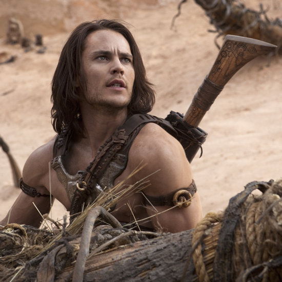 "Taylor Kitsch finds himself embroiled in a Martian civil war in ""John Carter."""