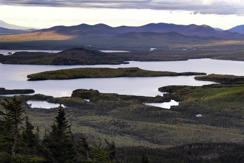 Photo shows Moosehead Lake near Greenville. The Land Use Regulation Commission did not violate any procedural rules in approving a massive residential development in the region, the Maine Supreme Judicial Court ruled Thursday.