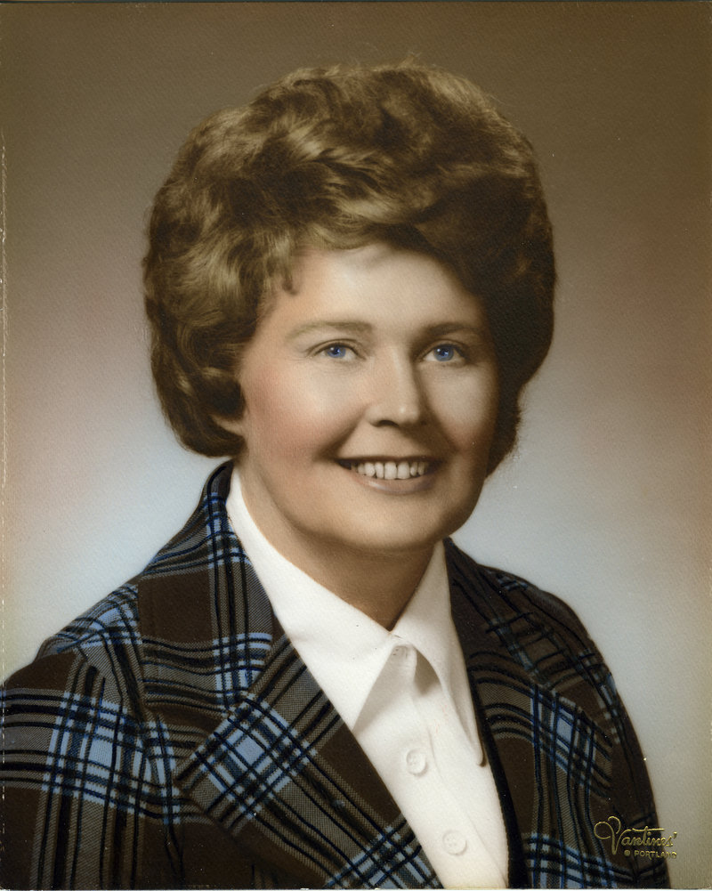 Hattie M. Bickmore, shown in 1974 when she served on Maine Gov. Kenneth Curtis' Executive Council.