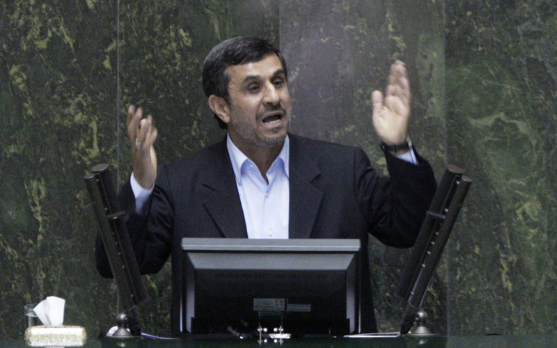 Iranian President Mahmoud Ahmadinejad has threatened Israel repeatedly, as well as warning that Iran would close off the Strait of Hormuz in the Persian Gulf, a key passageway for oil shipments, if his country is attacked.