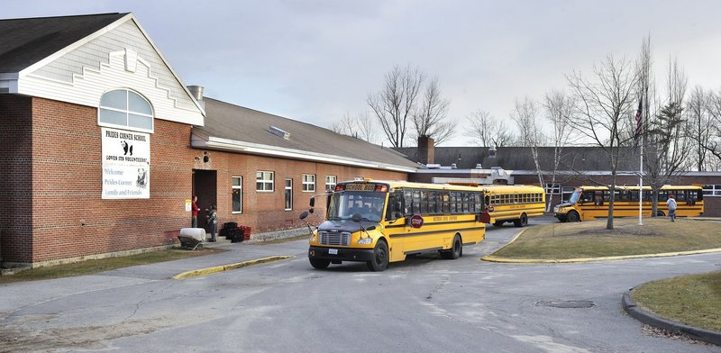 Westbrook's Prides Corner Elementary School is closing in June. It is among four Greater Portland schools to close in the past year.