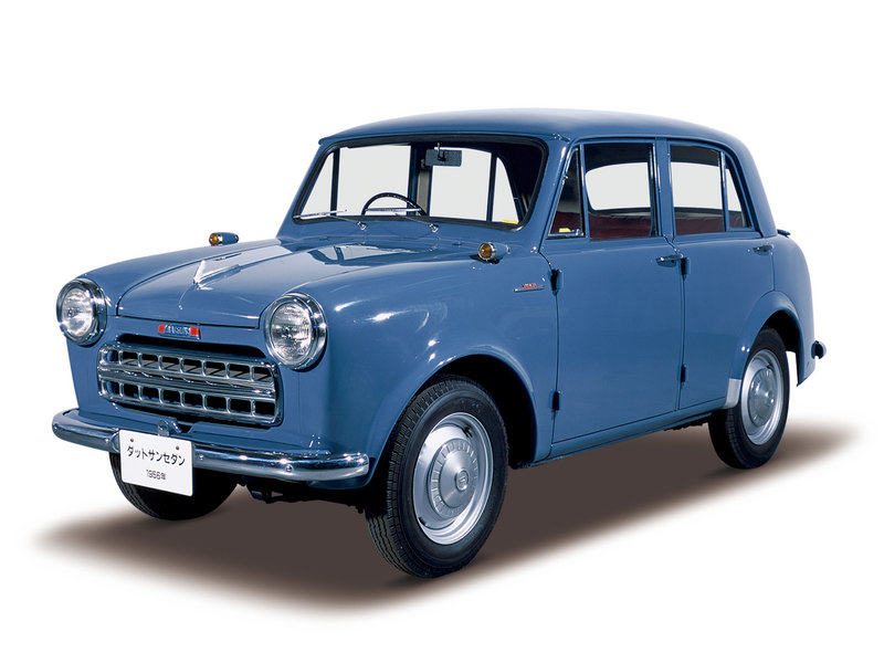 Datsun's new generation of cars will be affordable – like this Datsun 113, manufactured during the 1950s.