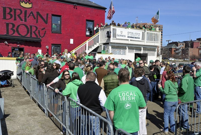 A Press Herald story should not have focused on drinking on St. Patrick's Day, a reader writes.