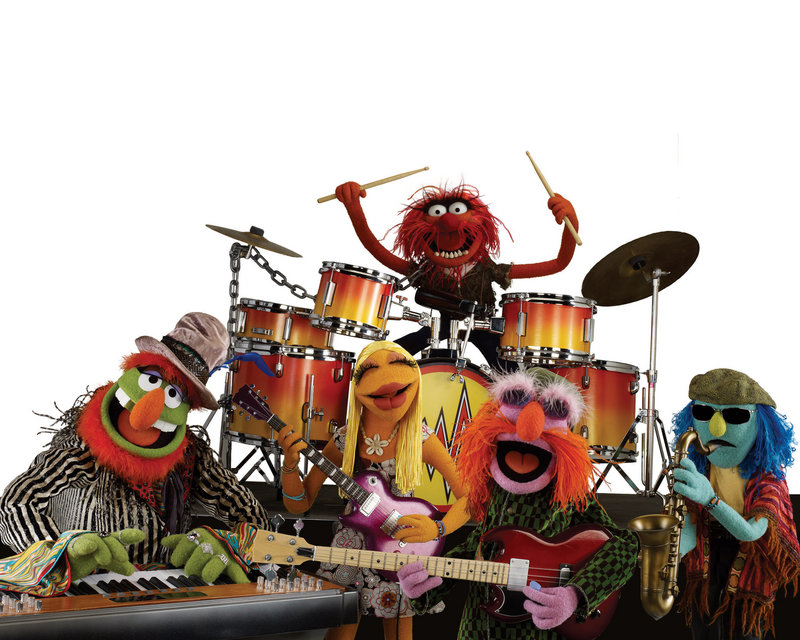 "Dr. Teeth and the Electric Mayhem of ""The Muppet Show"" fame, left. On Saturday the Mark Tipton Quartet will play tunes from both that show and from ""Sesame Street."""