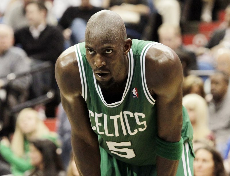 Kevin Garnett had 24 points, 10 rebounds and four assists Friday.