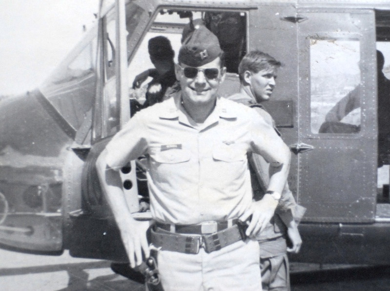 Paul Getchell in 1969 at a base in Vietnam. He died in Laos in 1969.