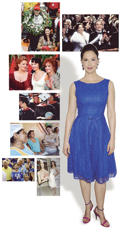 """Ashley Judd is often in the media glare – for her enormously successful movie career, for her marriage to race car driver Dario Franchitti and for her activism in humanitarian causes. And now she's using the media to speak out about """"the objectification of women and girls"""" in American society."""