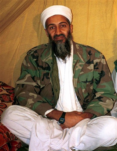 This is an undated file photo shows al Qaida leader Osama bin Laden, in Afghanistan. A year after the Navy SEAL raid that killed Osama bin Laden, the al-Qaida that carried out the Sept. 11 attacks is essentially gone but its affiliates remain a threat to America, U.S. intelligence officials say. (AP Photo)