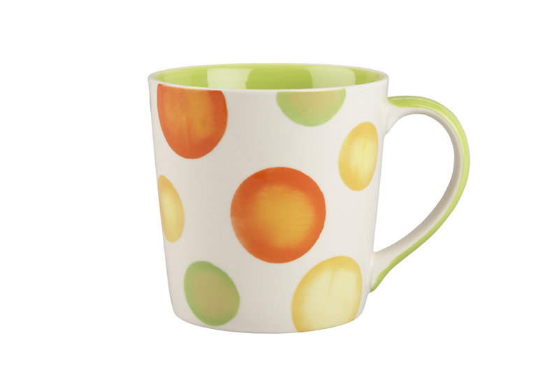 Citrus Dot mug from Crate & Barrel.