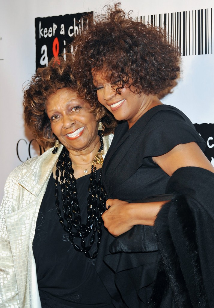 Cissy Houston, left, speaks about daughter Whitney Houston in her first interview since the singer's death.