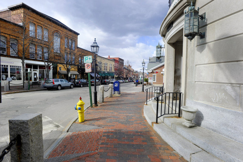 Front Street in Bath has been honored by the National Trust for Historic Preservation, which recognizes downtown districts that are revitalized with an emphasis on historic preservation.