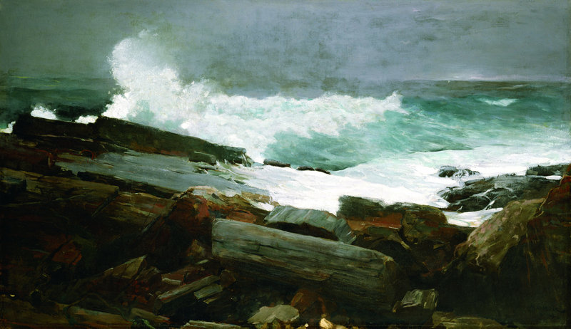 """Weatherbeaten,"" an 1894 oil on canvas by Winslow Homer, will be included in a Portland Museum of Art show that opens Sept. 22. Homer lived in Maine from 1883 until his death in 1910."