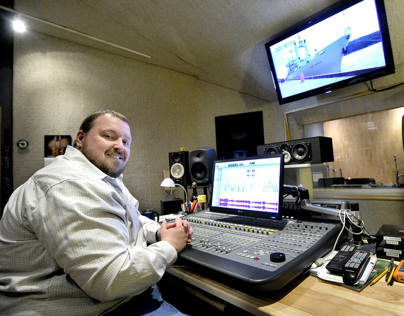 Jim Begley has helped local musicians make their recordings at The Studio in Portland for 15 years. He has branched out to engineering sound for film and TV.