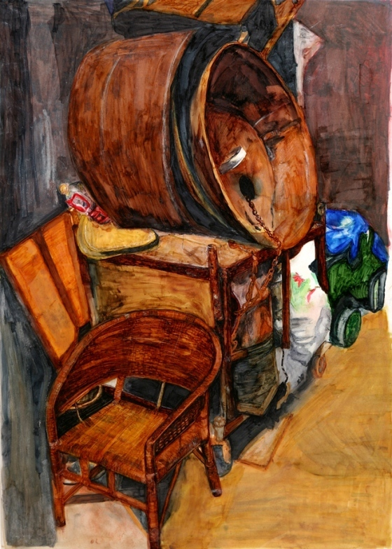 """Yena Kang's """"Corner"""" won gold in the national Scholastic Art and Writing Awards competition."""