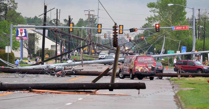 Severe weather struck early this weekend in Oklahoma when a tornado knocked down power lines in Norman on Friday. Forecasters were predicting that the worst was yet to come.