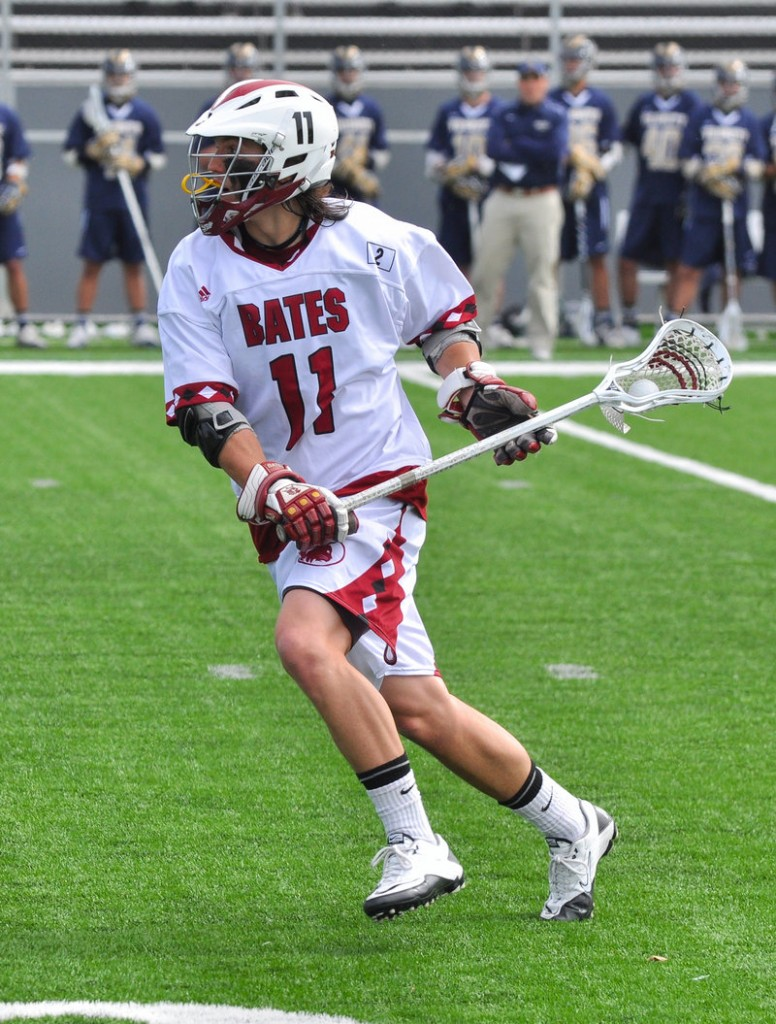 Jason Hichborn, a senior midfielder, leads Bates College in scoring with 12 goals and four assists.